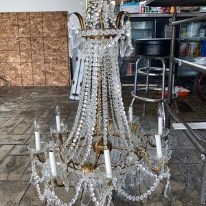 Schonbek chandelier